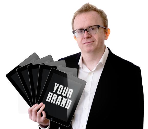 iPad magician with multiple iPads